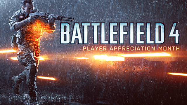 Battlefield 4 Player Appreciation Month