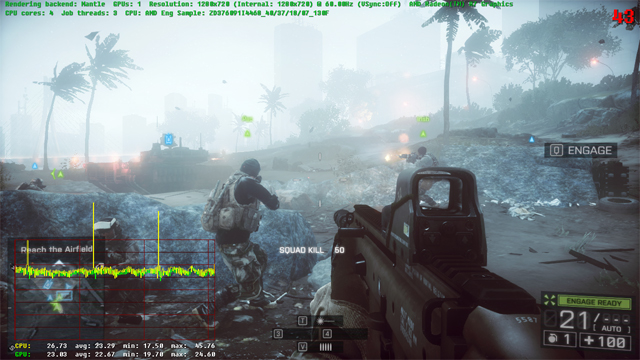 BF4 Test case #1 - Mantle