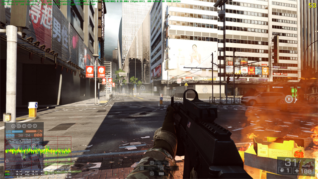 BF4 Test case #2 - Direct3D 11