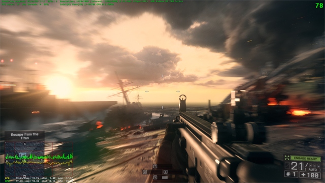 BF4 Test case #3 - Direct3D 11