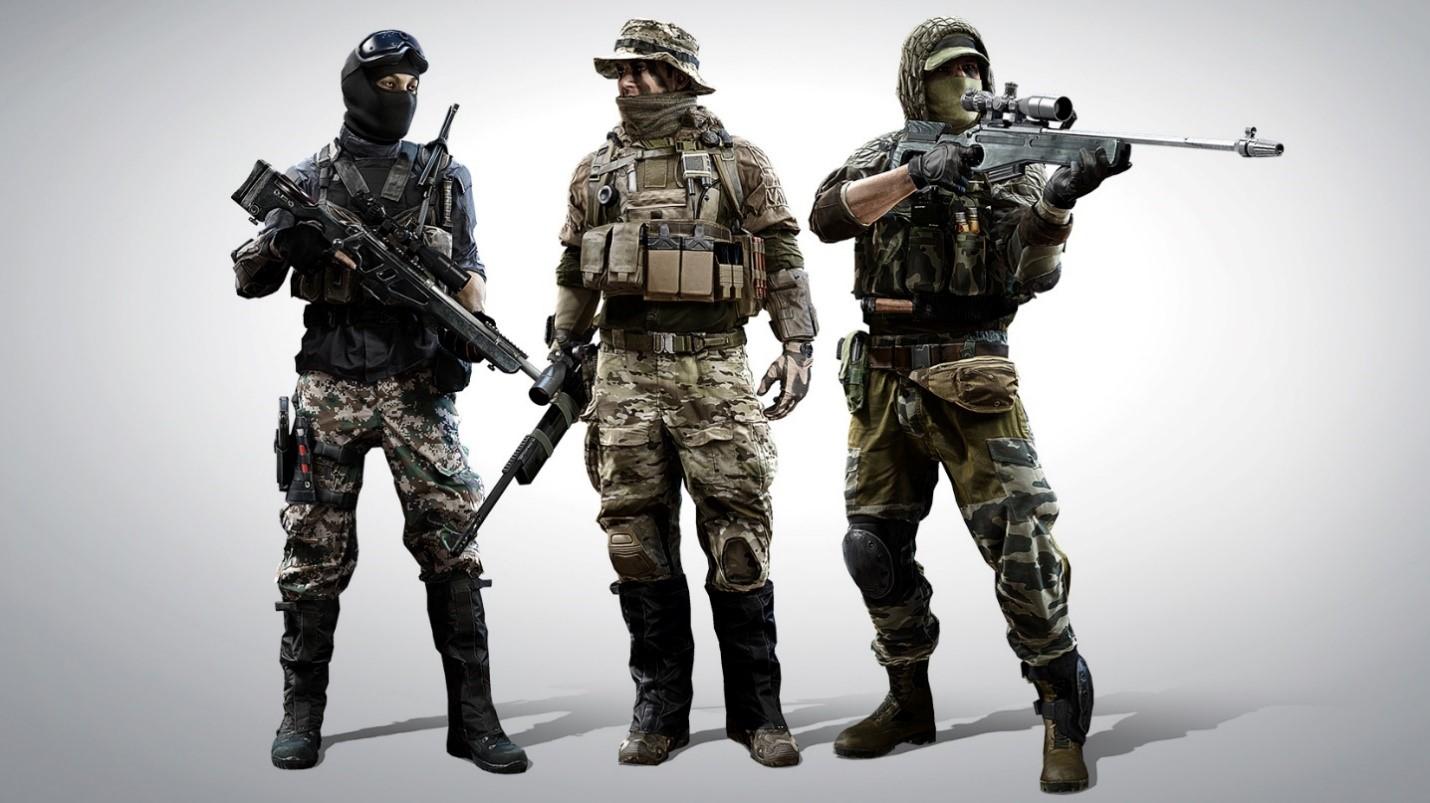Battlefield 4 отряды