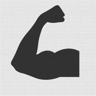 铁拳臂章矢量图