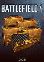 Battlefield 4™ 5 X Gold Battlepacks
