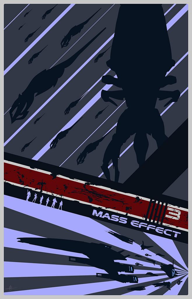 Mass Effect 3 Poster by Firespray1138