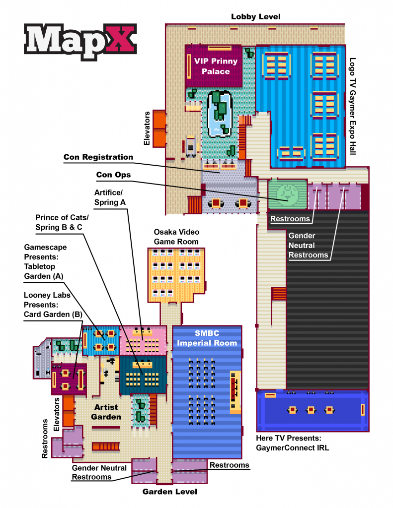 GaymerX Map