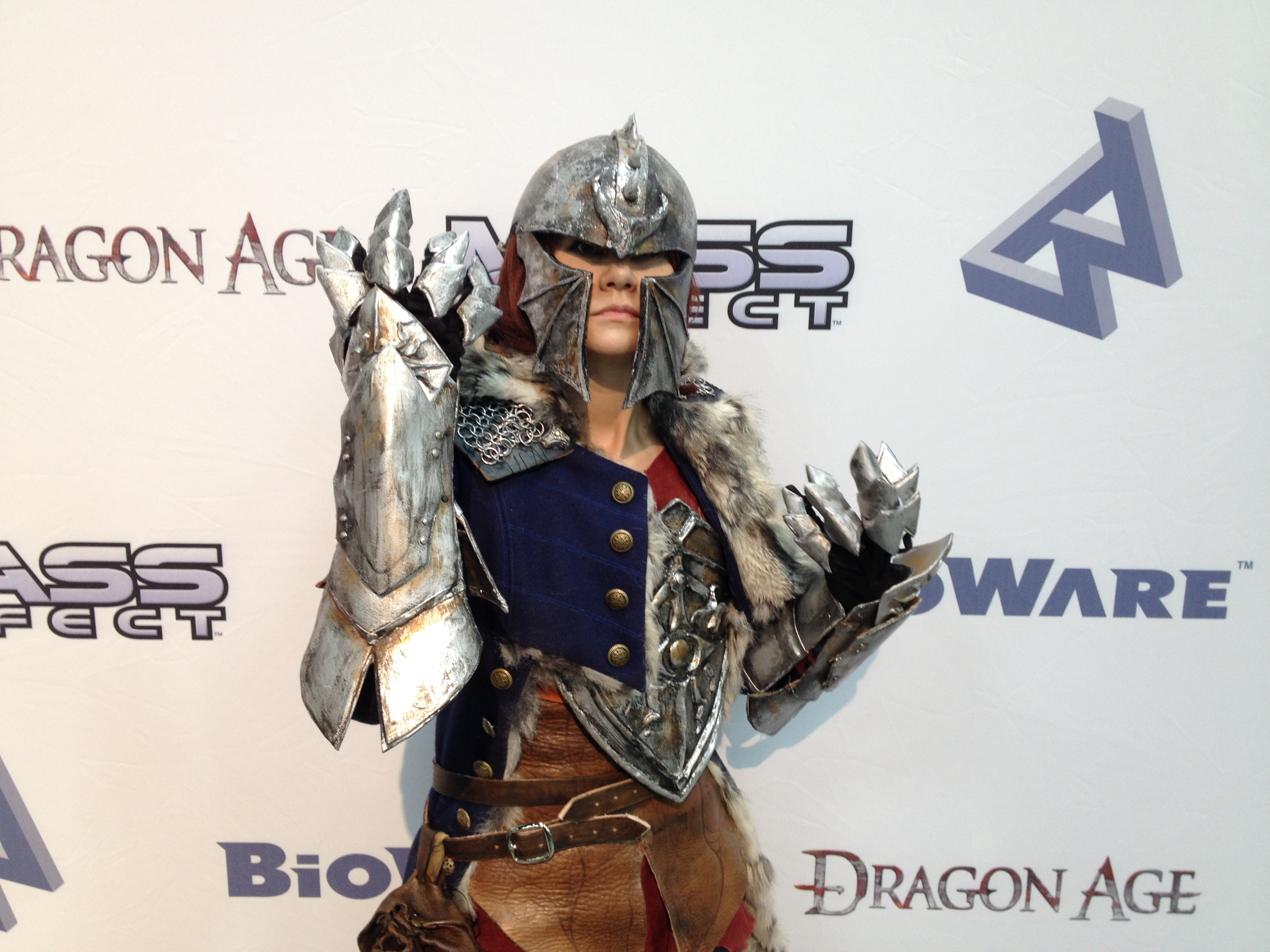 Holly Conrad Debuts Female Inquisitor Cosplay From Dragon Age Inquisition Bioware Blog The costume will be made using your individual measurements. holly conrad debuts female inquisitor