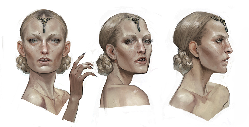 Calpernia heads