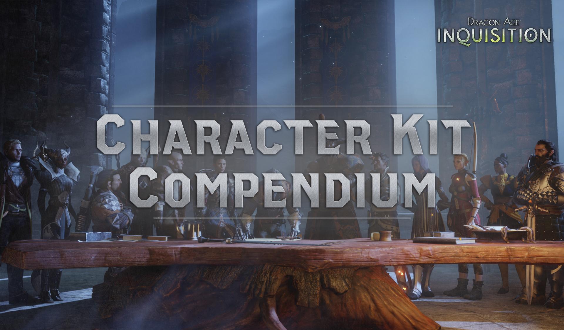 Character Kit Compendium