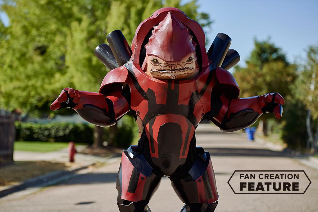 Fan Creation Feature: Garm the Krogan Battlemaster