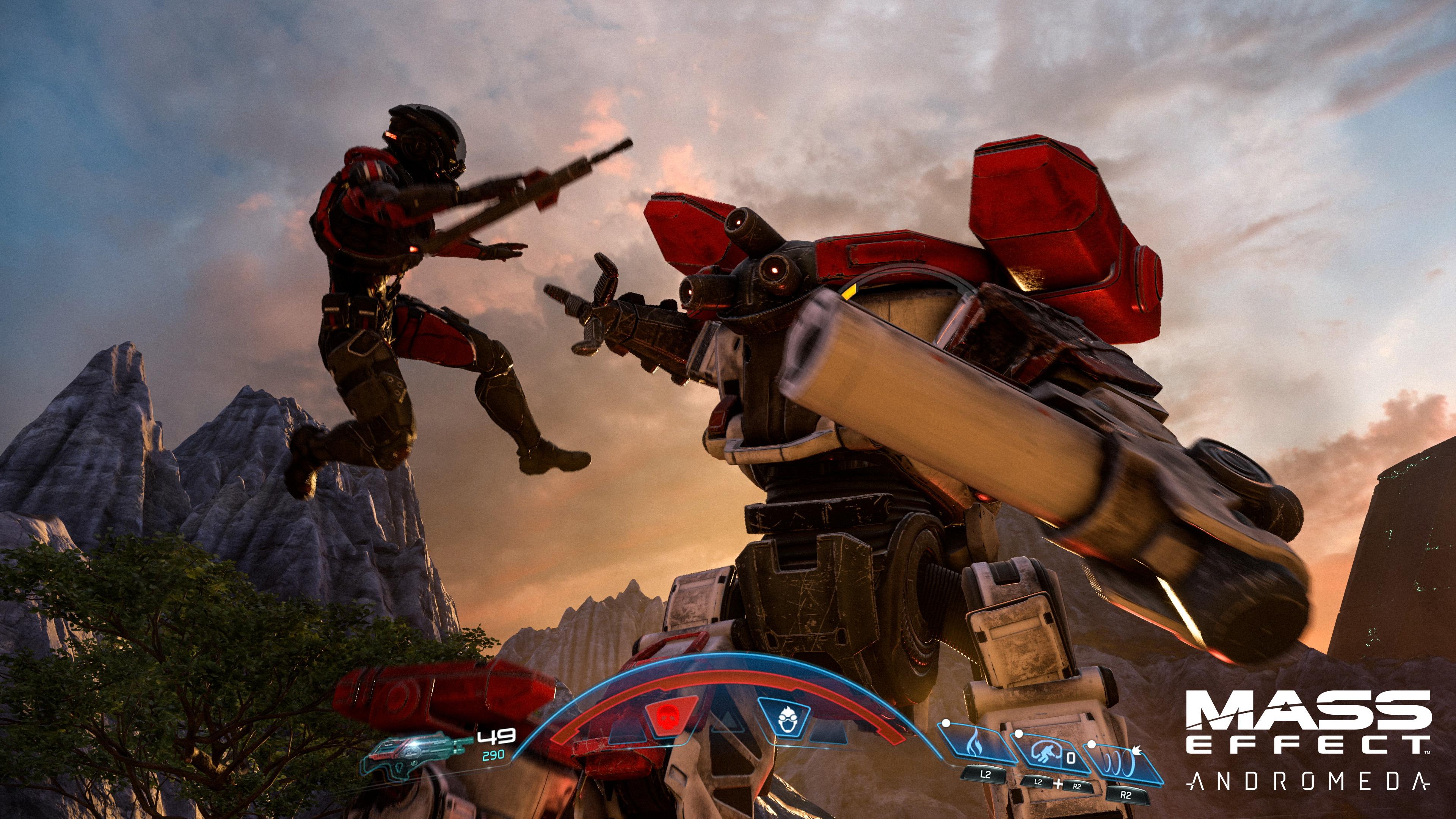 Mass Effect: Andromeda Gameplay Reveal