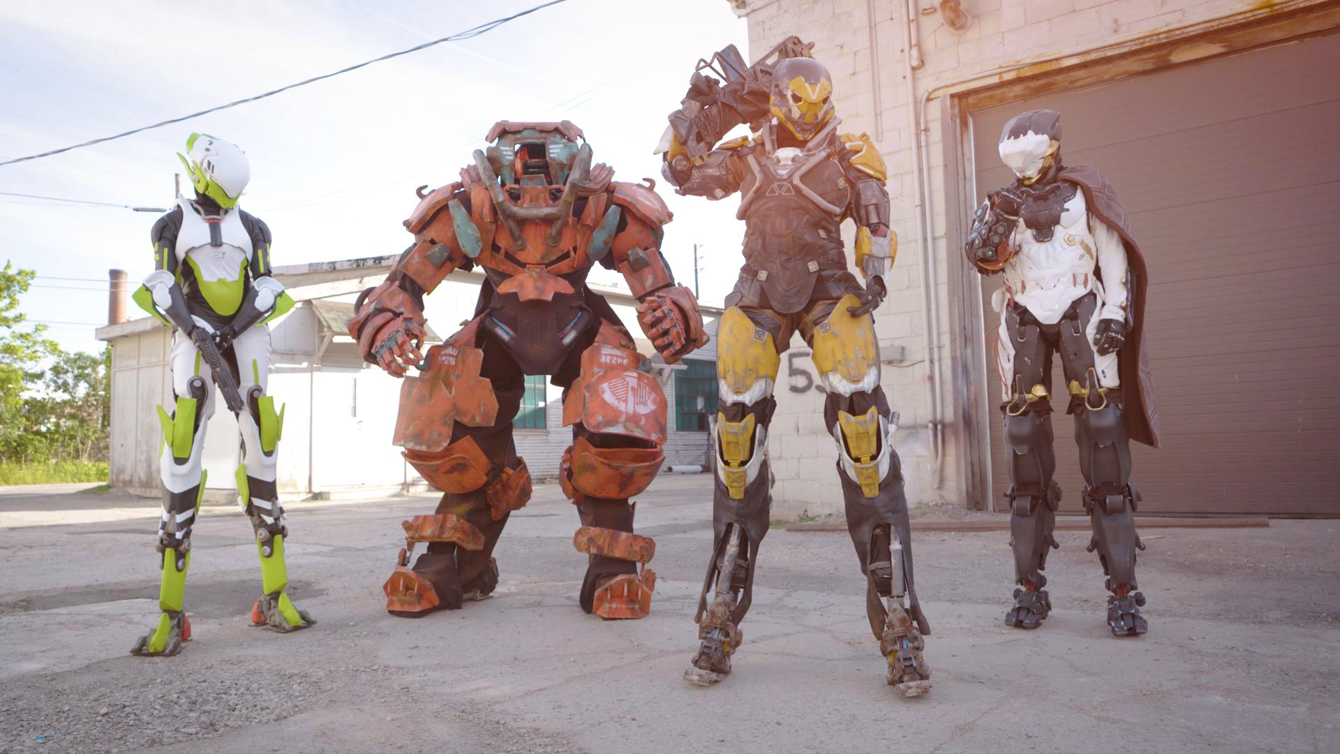 Suit Up Building The Javelins Of Anthem Bioware Blog