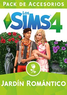 Los sims 4 jard n rom ntico pack de accesorios para for Sims 4 jardin romantico