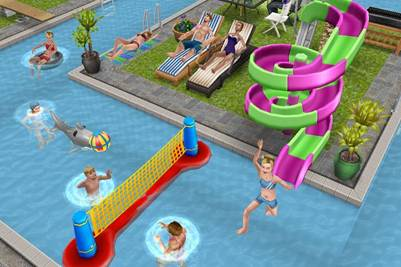 Speculation possibility of pool parties page 2 the for Pool design sims 4