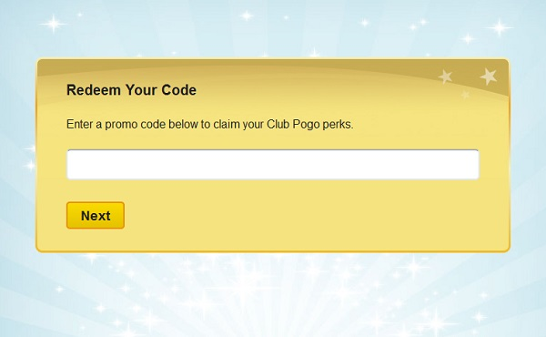 Club pogo coupon code
