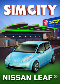 SimCity DLC NISSAN LEAF Origin бесплатно