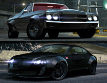 The Aggression Drag Car Pack