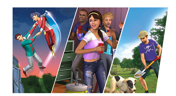 Discover New Experiences Expand your game and add more to your Sims' lives  with The Sims™ 3 Expansion Packs, Stuff Packs, and Worlds. Visit the Store >