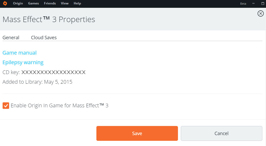 Find Your Product Code, Serial Code, Or CD Key In The Game Properties Menu