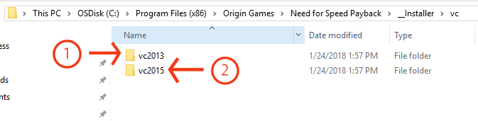 Origin - VC++ and .dll errors with Origin