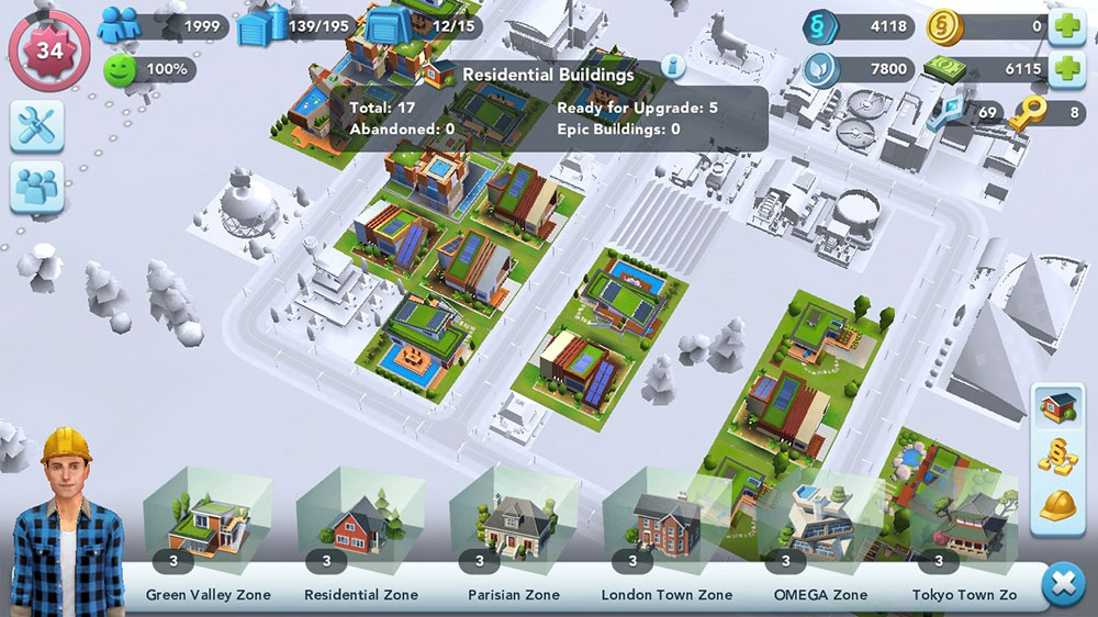 SimCity BuildIt - All about Regions in SimCity BuildIt