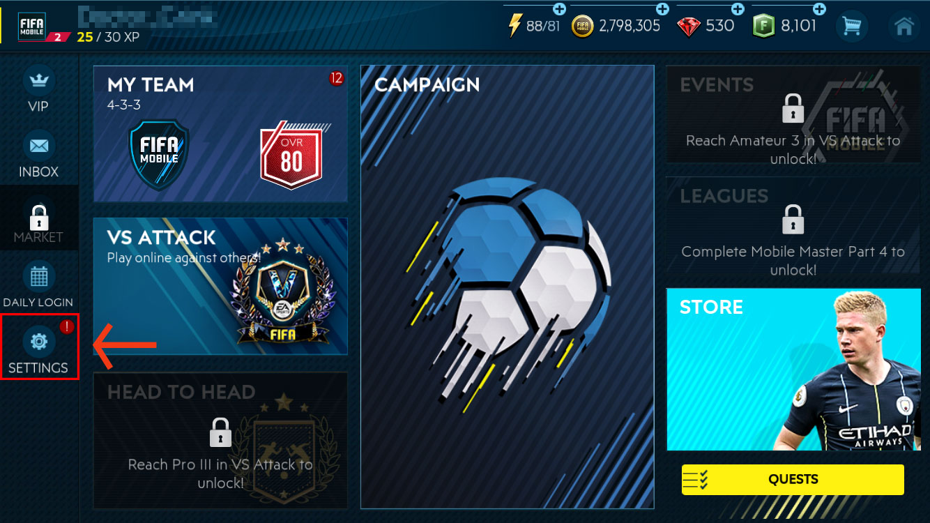 FIFA Mobile - Find your FIFA Mobile User ID