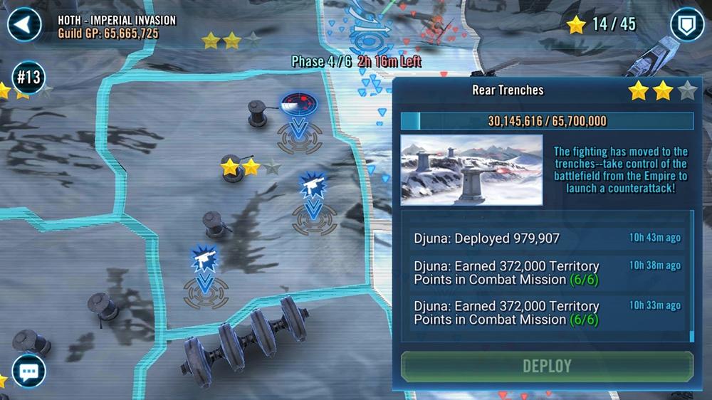 SW:GOH Territory Battles