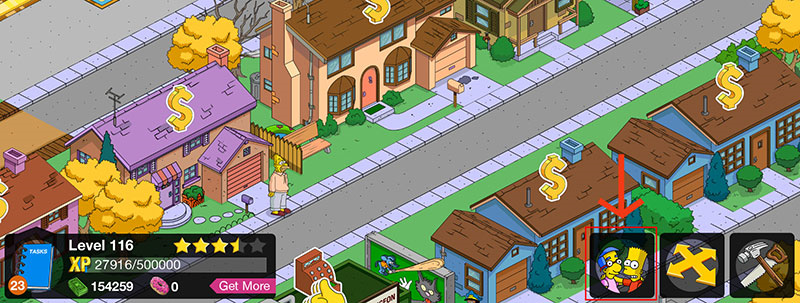 The Simpsons Tapped Out is available in: